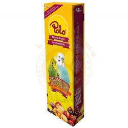 Polo - Polo Meyveli Muhabbet Kuşu Krakeri 3lü Paket (95 Gr)