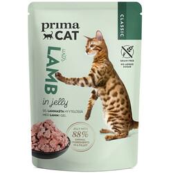 Prima Cat - PrimaCat Classic Pouch Jöle İçinde Kuzu Etli Tahılsız Kedi Yaş Maması 85 Gr