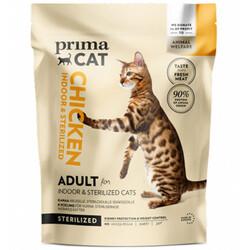 Prima Cat - PrimaCat Indoor Sterilised Tavuk Etli Kısırlaştırılmış Kedi Maması 400 Gr