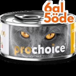 Pro Choice - Pro Choice Pate Chicken Tavuk Etli Tahılsız Ezme Kedi Konservesi 80 Gr - 6 Al 5 Öde