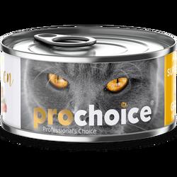 Pro Choice - Pro Choice Pate Chicken Tavuk Etli Tahılsız Ezme Kedi Konservesi 80 Gr