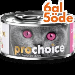 Pro Choice - Pro Choice Kitten Pate Chicken Tavuk Etli Tahılsız Ezme Yavru Kedi Konservesi 80 Gr - 6 Al 5 Öde