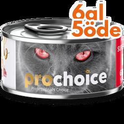 Pro Choice - Pro Choice Pate Lamb Kuzu Etli Tahılsız Ezme Kedi Konservesi 80 Gr - 6 Al 5 Öde