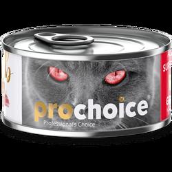 Pro Choice - Pro Choice Pate Lamb Kuzu Etli Tahılsız Ezme Kedi Konservesi 80 Gr