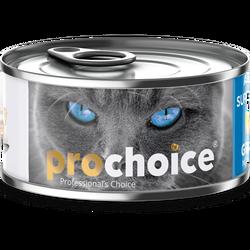 Pro Choice - Pro Choice Pate Sardalya ve Hamsili Tahılsız Ezme Kedi Konservesi 80 Gr