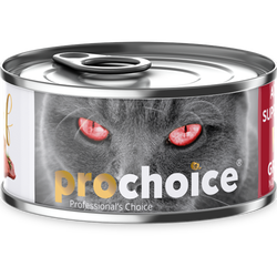 Pro Choice - Pro Choice Pate Beef Biftekli Tahılsız Ezme Kedi Konservesi 80 Gr