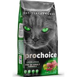 Pro Choice - Pro Choice Pro36 Kuzu Etli Kedi Maması 2 Kg+5 Adet Temizlik Mendili