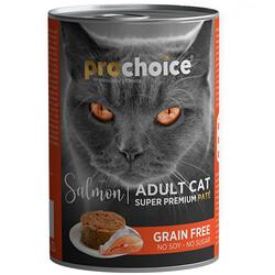 Pro Choice - Pro Choice Salmon Somon Etli Tahılsız Kedi Konservesi 400 Gr