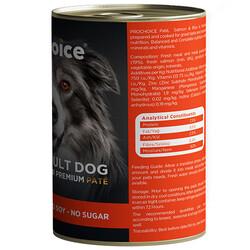 Pro Choice Salmon Somon Etli Tahılsız Köpek Konservesi 400 Gr - Thumbnail