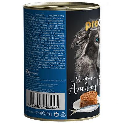 Pro Choice Sardalya ve Hamsili Tahılsız Köpek Konservesi 400 Gr