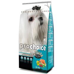 Pro Choice - Pro Choice Small Breed Hair&Skin Somonlu Köpek Maması 3 Kg+2 Adet Temizlik Mendili