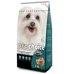 Pro Choice - Pro Choice Small Breed Light&Sterilised Kuzulu Küçük Irk Köpek Maması 3 Kg