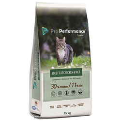 Pro Performance - Pro Performance Adult Chicken Rice Tavuklu ve Pirinçli Yetişkin Kedi Maması 15 Kg