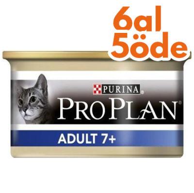 Pro Plan Adult +7 Ton Balıklı Yaşlı Kedi Konservesi 85 Gr - 6 Al 5 Öde