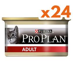 Pro Plan - Pro Plan Adult Tavuk Etli Kedi Konservesi 85 Gr-(24 Adetx85 Gr)