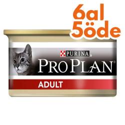 Pro Plan - Pro Plan Adult Tavuk Etli Kedi Konservesi 85 Gr - 6 Al 5 Öde