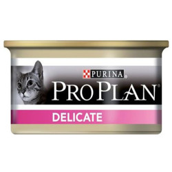Pro Plan - Pro Plan Delicate Hassas Hindi Etli Kedi Konservesi 85 Gr