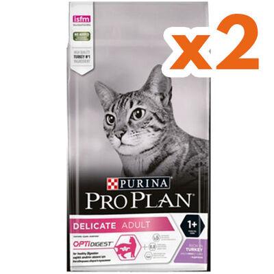 Pro Plan Delicate Hindili Hassas Sindirimli Kedi Maması 3 Kg x 2 Adet