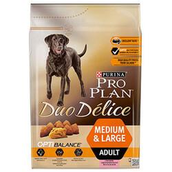 Pro Plan - Pro Plan Duo Delice Somonlu Köpek Maması 2,5 Kg+5 Adet Temizlik Mendili