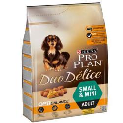Pro Plan - Pro Plan Duo Delice Tavuk Etli Small Küçük Irk Köpek Maması 2,5 Kg + 5 Adet Temizlik Mendili