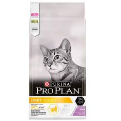 Pro Plan - Pro Plan Light Düşük Kalorili Hindi Etli Kedi Maması 3 Kg+5 Adet Temizlik Mendili