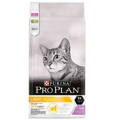 Pro Plan Light Düşük Kalorili Hindi Etli Kedi Maması 3 Kg + 2 Adet 85 Gr Yaş Mama
