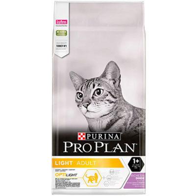 Pro Plan Light Hindili Düşük Kalori Kedi Maması 1,5 Kg + 5 Adet Temizlik Mendili