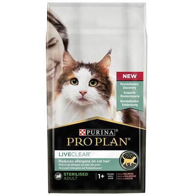 Pro Plan Live Clear Sterilised Somonlu Kısırlaştırılmış Kedi Maması 1,4 Kg