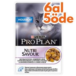 Pro Plan - Pro Plan Pouch Housecat Hindili Yaş Kedi Maması 85 Gr - 6 Al 5 Öde
