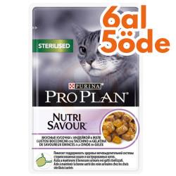 Pro Plan - Pro Plan Pouch Kısırlaştırılmış Hindili Yaş Kedi Maması 85 Gr - 6 Al 5 Öde
