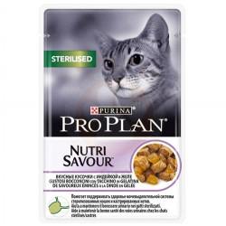 Pro Plan - Pro Plan Pouch Kısırlaştırılmış Hindili Yaş Kedi Maması 85 Gr