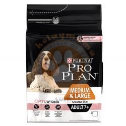 Pro Plan - Pro Plan Senior Medium/Large Somon Yaşlı Köpek Maması 3 Kg+5 Adet Temizlik Mendili