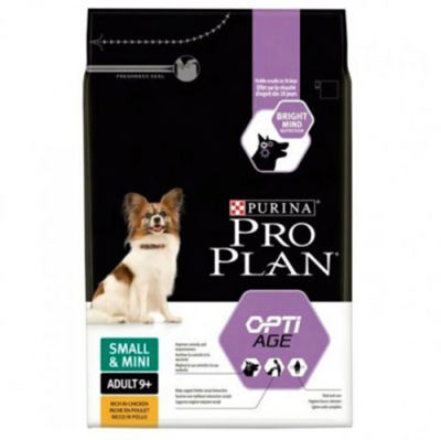 Pro Plan Small Mini Adult+9 Tavuk Etli Köpek Maması 3 Kg+5 Adet Temizlik Mendili