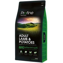 Profine - Profine Adult Lamb Kuzu Etli Hipo-Alerjenik Köpek Maması 15 Kg+10 Adet Temizlik Mendili