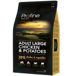 Profine - Profine Adult Large Doğal Tavuk Eti ve Patates Köpek Maması 3 Kg