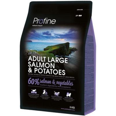 Profine Adult Large Somon ve Patates Hipo-Alerjenik Köpek Maması 3 Kg