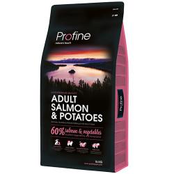 Profine - Profine Adult Somonlu Hipo-Alerjenik Köpek Maması 15 Kg+10 Adet Temizlik Mendili