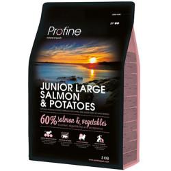 Profine - Profine Junior Large Somon ve Patates Hipo-Alerjenik Yavru Köpek Maması 3 Kg