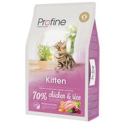Profine - Profine Kitten Doğal Tavuk Etli Yavru Kedi Maması 10 Kg