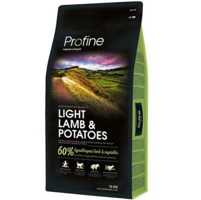 Profine Light Lamb Kuzu Etli Hipo-Alerjenik Köpek Maması 15 Kg+10 Adet Temizlik Mendili