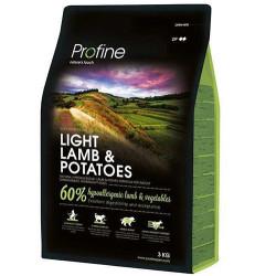 Profine - Profine Light Lamb Kuzu Etli ve Patates Hipo-Alerjenik Köpek Maması 3 Kg