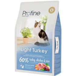 Profine - Profine Light Turkey Düşük Kalorili Hindi Etli Kedi Maması 10 Kg