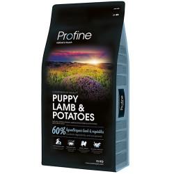 Profine - Profine Puppy Lamb Hipo-Alerjenik Yavru Köpek Maması 15 Kg+10 Adet Temizlik Mendili