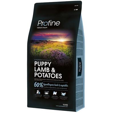 Profine Puppy Lamb Hipo-Alerjenik Yavru Köpek Maması 15 Kg+10 Adet Temizlik Mendili