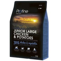 Profine - Profine Junior Large Doğal Tavuk ve Patates Yavru Köpek Maması 3 Kg