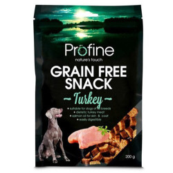 Profine - Profine Grain Free Turkey Hindi Etli Tahılsız Köpek Ödülü 200 Gr