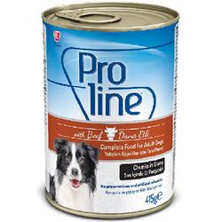 ProLine - Proline Dana Etli Sos İçinde Et Parçalı Köpek Konservesi 415 Gr