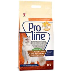ProLine - Proline Doğal Topaklanan Portakal Kokulu Kedi Kumu 10 Lt
