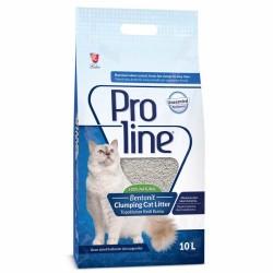 ProLine - Proline Doğal Unscented Topaklanan Kokusuz Kedi Kumu 10 Lt