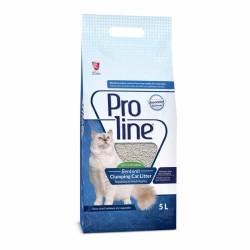 ProLine - Proline Doğal Unscented Topaklanan Kokusuz Kedi Kumu 5 Lt